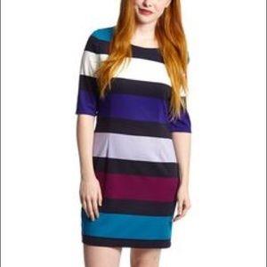 Jessica Simpson Multi-colored Striped Dress